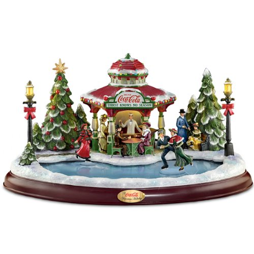 Masterpiece Edition Sculpture: Coca-Cola Victorian Holiday By Hawthorne Village