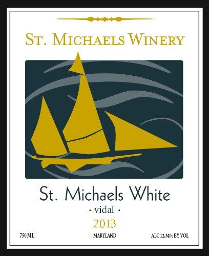 2013 St. Michaels Vidal White 750 Ml