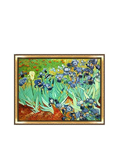 Vincent van Gogh Irises Framed Hand-Painted Oil Reproduction