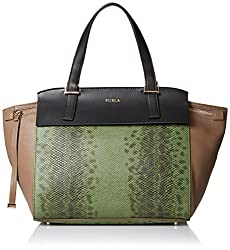 Furla Dolce Vita Small Tote with Top Zip Handle Bag