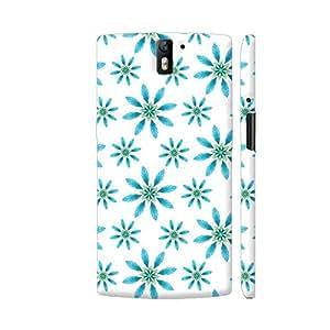 Colorpur Decorative Pattern In Green Blue Designer Mobile Phone Case Back Cover For OnePlus One   Artist: Divakar Vikramjeet Singh
