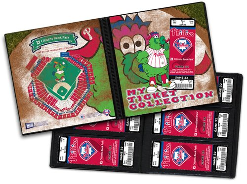 Phanatic Philadelphia Phillies Mascot Ticket Album at Amazon.com