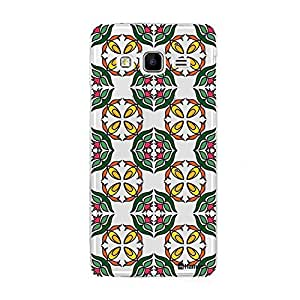 Customizable Hamee Original Designer Cover Thin Fit Crystal Clear Plastic Hard Back Case for Samsung Galaxy On7 (Multicolour Ethnic)