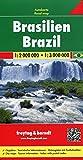 Freytag Berndt Autokarten, Brasilien - Maßstab 1:2 000 000 - 1:3 000 000