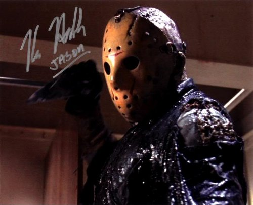 Jason Voorhees 8x10 Autographed Photo Reprint
