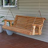 Amish Made Heavy Duty 700 Lb Roll Back 4ft. Treated Porch...