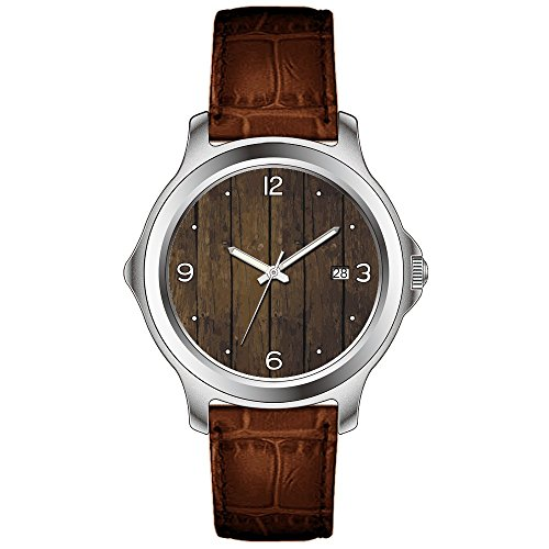 s watches electric s brown leather