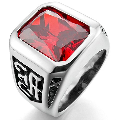 epinkifashion-jewelry-mens-stainless-steel-crystal-rings-silver-red-charm-elegant-size-p-1-2