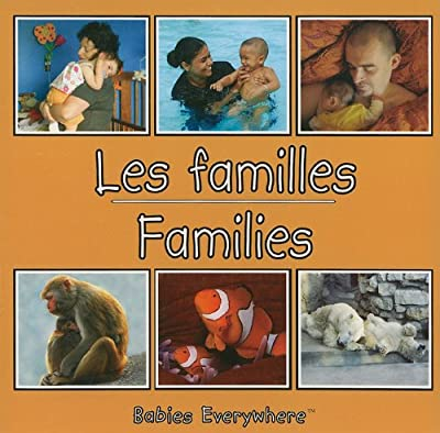 Families (Babies Everywhere) French/English (French Edition)