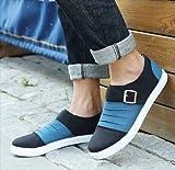 (フルールドリス)Fluer de lis ベルト ブラック バイカラー シューズ 靴 くつ カジュアル スニーカー デッキシューズ カジュアル アパレル メンズ ファッション 服 262-t1-1687