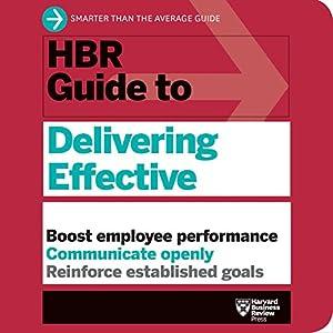 HBR Guide to Delivering Effective Feedback Audiobook