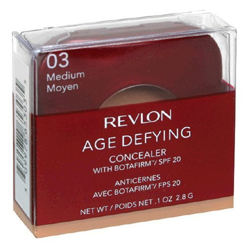 Buy Revlon Age Defying Concealer with Botafirm, SPF 20, Medium 03, 0.1 oz (2.8 g)
