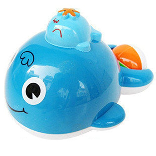 AxiEr-Baby-Bath-Toys-Dabble-Toy-Rotating-Fountain-Spray-Water-Park-Bath-Playset-Whale-Sprinkler-Toy-Water-Play