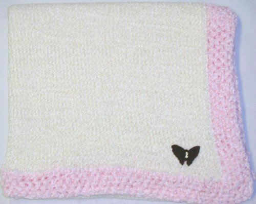 Hand Knitted Baby Blanket back-333726