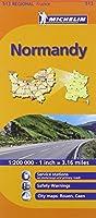 Normandy Michelin Regional Map (Michelin Regional Maps)