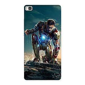 Premier Preparation Designer Back Case Cover for Huawei P8