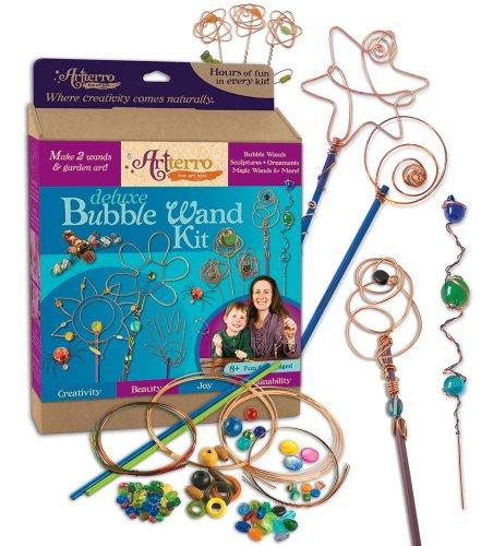 Artterro Deluxe Bubble Wands Kit