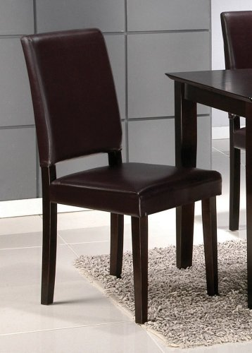 Buy Low Price Home Furniture and Decor Hudson Faux Parson Dining Chair (Set of 2) (B003NTTHTK)