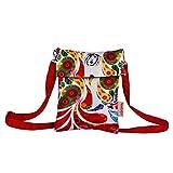 Nostaljia Digital Print Sling Bag