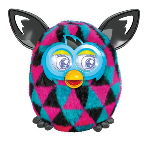 Furby Boom Figure (Triangles) front-11706