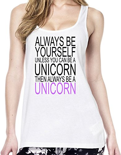 Always Be Yourself Slogan Tunica delle donne Large
