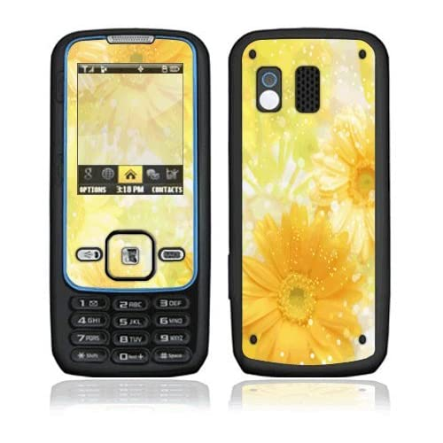 Yellow Flowers Decorative Skin Cover Decal Sticker for Samsung Rant SPH M540 Cell Phone