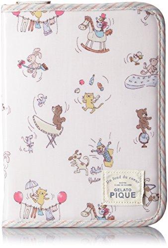 [ジェラート ピケ] gelato pique サーカス柄コーティング母子手帳ケース PWGG162627 66 (PNK)