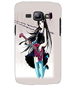 SAMSUNG GALAXY J1 MUSIC GIRL Back Cover by PRINTSWAG