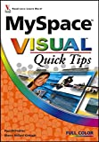 img - for MySpace Visual Quick Tips book / textbook / text book