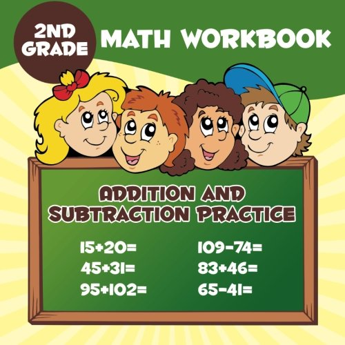 2nd Grade Math Workbook: Addition & Subtraction Practice PDF