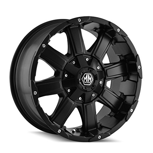 Mayhem Chaos 8030 Matte Black Wheel (20x9