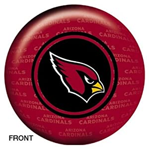 Arizona Cardinals Bowling Ball (16lbs) by Fanzz