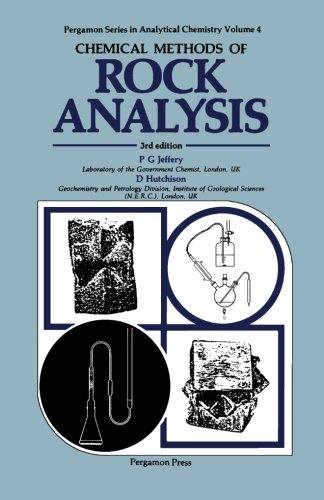 Chemical Methods Of Rock Analysis
