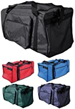 Anaconda Sports® MG-TEAM-P Heavy-Duty Vinyl Lined Nylon Equipment Bag