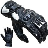 Motorradhandschuhe PROANTI® Leder kurz Motorrad Handschuhe