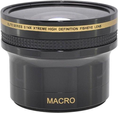 0.14x Fish-Eye WEITWINKEL VORSATZKONVERTER Objektive mit MAKROLINSE (für 52mm, 58mm Anschlussgewinde) für Nikon 3000, D3100, D3200, D3300, D5000, D5100, D5200, D5300, D5500, D7000, D7100, DF, D3, D3S, D3X, D4, D40, D40x, D50, D60, D70, D70s, D80, D90, D100, D200, D300, D600, D610, D700, D750, D800, D800E, D810 SLR-Digitalkamera