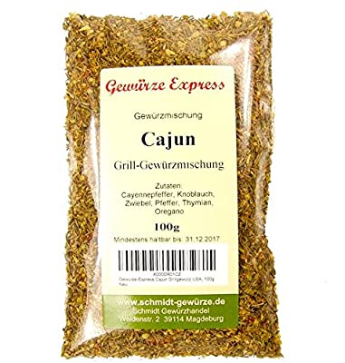 Gewürze-Express Cajun Grillgewürz USA, 100g von Gewürze-Express auf Gewürze Shop