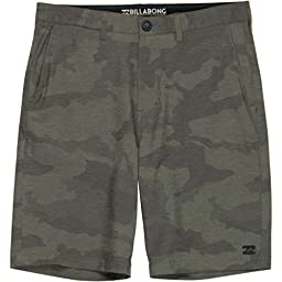 Billabong Crossfire X Hybrid Shorts - Dark Camo - 42