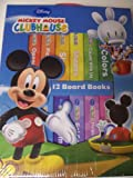 Disney Mickey Mouse Clubhouse Set of 12 Educational Board Books ~ Opposites, Shapes, Counting, Animals & More!