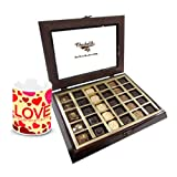 Chocholik Luxury Chocolates - Trendy Collection Of Chocolates With Love Mug
