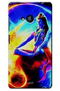 IndiaRangDe Case For Microsoft Nokia Lumia 540 (Printed Back Cover)