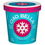 Ciao Bella Coconut Sorbetto, 16-Ounce Cups (Pack of 4) ~ Ciao Bella