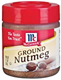 McCormick Ground Nutmeg, 1.1-Ounce Unit (Pack of 6)