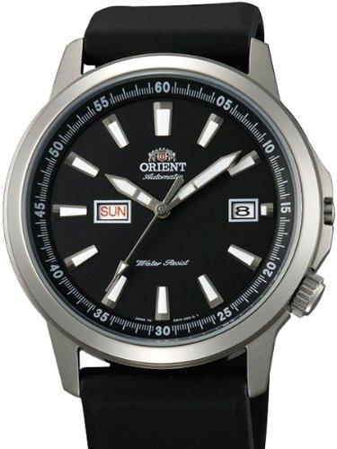 Orient 42mm Stingray-Orologio automatico con giorno e data quadrante nero em7K00ab