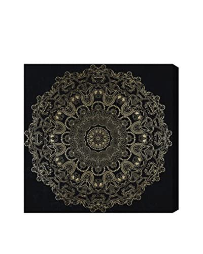 Oliver Gal Paisley Mandala Canvas Art