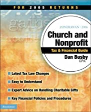Zondervan Church and Nonprofit Tax and Financial Guide For Returns by Dan Busby CPA