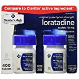 Members Mark, Loratadine 10mg, 400 Tablets (Compare To Claritin)