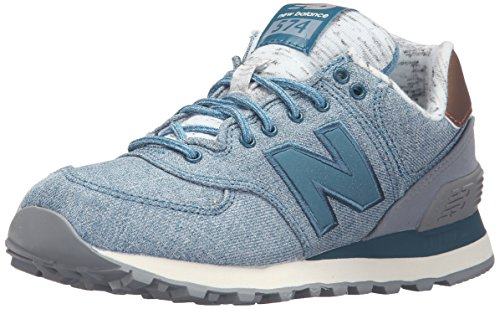 New Balance WL574AEC-574 - Scarpe Running Donna, Blu (Jetstream 441), 39 EU
