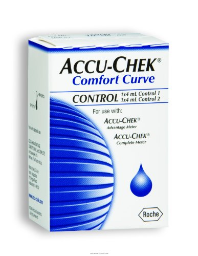 Cheap ACCU-CHEK Comfort Curve Glucose Control Solution, Comfort Curve Hi-Lo Ctrl Sol, (1 BOX, 2 EACH) (UHS-BIO30411-1BOX-2EACH)