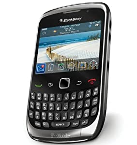 T-Mobile BlackBerry Curve 3G 9300 No Contract GSM 3G QWERTY Camera Smartphone